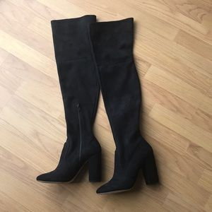 Offers Welcomed 💖 ALDO Thigh High Black Boots